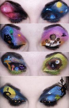 Halloween and Horror Makeup Ideas Part 2 | Girly Design Blog ...