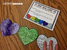In Love with Logic! Get your students to to stretch their brains and follow directions with these logic puzzles for February!