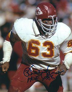Willie Lanier Kansas City Chiefs Autographs