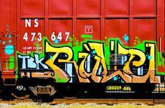 Train Graffiti and Photography.