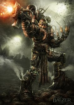 Nurgle - Chaos Space Marine by helgecbalzer on DeviantArt