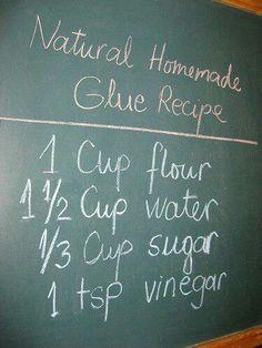 Glue recipe