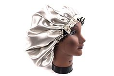 XLarge IVORY New 24 Handmade Fully Reversible Luxuries Pure Satin Hair Bonnet Safe For All Hair Types Most Beneficial Hair care Product Available Royal Sensations Hair Bonnet *** Details can be found by clicking on the image. (This is an affiliate link) Luxury Hair, Luxury Beauty, Hair Wraps For Sleeping, Scarves For Cancer Patients, Hair Bonnet, Thing 1, Hair Regrowth, Protective Hairstyles, Hair Oil