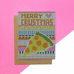 1 out of 4 new holiday cards! Available online and at our pop up at the @bulletin.co holiday market 🍕🍕🍕 . . . . #stationery #greetingcards #graphicdesign #illustration #stationerydesign #illustrator #supportlocalart #supportsmallbusiness #greenpoint #williamsburg #brooklyn #brooklynart #holidaymarket #holidaypopup #merrycrustmas #holidaycards #christmascards #pizza #pizzaart #thewilliamvale #bulletinholidaymarket