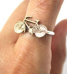I Want To Ride My Bicycle Ring by I Adorn U