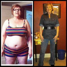 She lost 47 lbs and 31 total inches on her 90 Day Challenge!