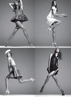 Karlie Kloss Nude Vogue Italia December 2011—Steven Meisel Photo 10