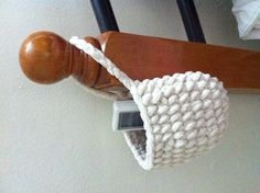 Crochet hanging basket :)