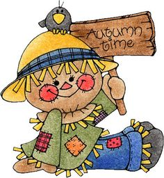 a fun scarecrow clipart and coloring page for all of us in the rh pinterest com