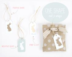 Silhouette Cameo - cutting positive and negative shapes and print and cut tutorial