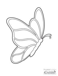 Free Butterflies Printable Coloring Page Kostenlose Schmetterlinge druckbare Malvorlagen The post Kostenlose Schmetterlinge druckbare Malvorlagen & Free Printable Coloring Pages appeared first on Print . Butterfly Outline, Butterfly Stencil, Butterfly Quilt, Butterfly Drawing, Butterfly Template, Butterfly Crafts, Butterfly Pattern, Butterfly Mobile, Heart Template
