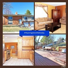 Enjoy the Ponderosa Pines in this #WyomingHomeWednesday home. This neatly kept maintenance free home with 2 car garage is located on the private street. The large backyard hosts a huge deck with a hot tub. The eat in kitchen has stainless steel appliances and ample counter space. With four bedrooms the home accommodates any lifestyle. #cbtpe #realestate #Wyoming
