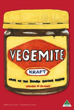 Tea Towel Vegemite Red. Perfect for drying and cleaning crockery, glassware, and cutlery. Effortlessly removes smears, watermarks, and fingerprints.