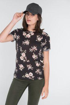 Ardene floral t-shirt