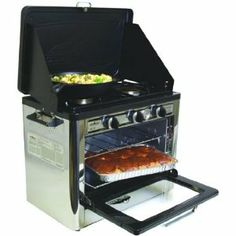 camping oven. i love coleman.