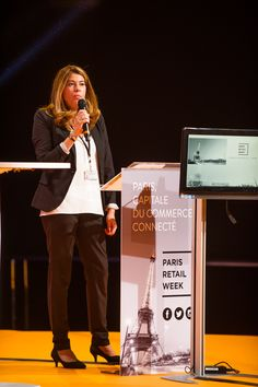 Opening of the E-Commerce Awards Ceremony by Sophie Lubet, Retail Business Unit Director at Comexposium. #ECP15 #ParisRetailWeek #AWARDS