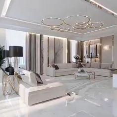 Interior Design Living Room Modern, Home Interior Design, Interior Design, Luxury Living Room, Luxury Interior Design, Living Room Design Modern, Luxe Interiors, Living Design, Luxurious Bedrooms