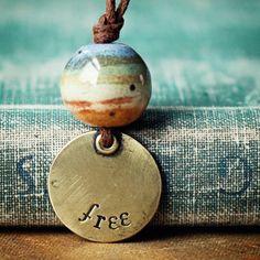 free landscape necklace