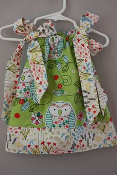 3 to 6 months Pillowcase Dress.....Made and by LevonaDanielle, $15.00