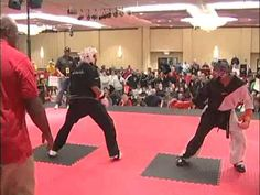 2009 Diamond Nationals Karate Tournament Fighting Eliminations