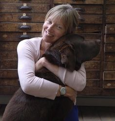 Artist Sam Toft  chocolate labs.....bring out the best in everyone