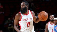 It's no secret that the #Houston Rockets' James #Harden is the frontrunner to be league MVP this year. Harden has been on a tear in the NBA this season, scoring 32.3 points per game, leading the league in scoring. Harden also leads the league in Player Efficiency Rating (PER), win shares and Real Plus-Minus.