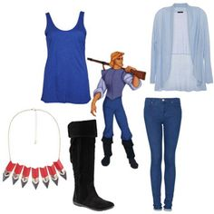 Dress Like 10 Cute Disney Princes Movie Inspired Outfits, Disney Inspired Fashion, Themed Outfits, Disney Fashion, Movie Outfits, Disney Princess Outfits, Disney Bound Outfits, Cute Disney, Disney Style