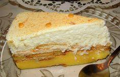 Semifrio Mandarim - Sobremesas de Portugal Sweet Recipes, Cake Recipes, Dessert Recipes, Tiramisu Trifle, Biscuits, Portuguese Recipes, Portuguese Food, Chocolate Desserts, No Bake Desserts