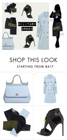"""""""BLUE IS THE SKY she said"""" by heartinplay ❤ liked on Polyvore featuring Dolce&Gabbana, VIVETTA, Jacquemus and Tom Ford"""