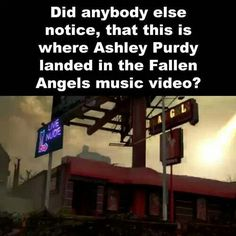 Haha I watched an interview about this. He said they filmed a lot of the music video around that area. And he liked it.