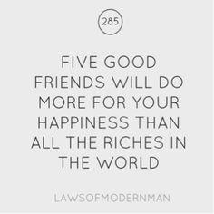 Five good friends!