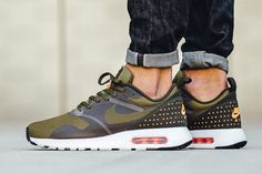 Nike Air Max Tavas 'Olive Flak' (via Kicks-daily.com)