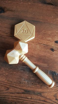 Judge Gavel - Dungeon Master gift - DnD Gifts - Dungeons and Dragons Dungeons And Dragons Gifts, Dragon Party, 3d Prints, Tabletop Games, Pen And Paper, Decir No, Geek Stuff, Crafts, Nerdy