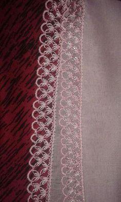 Beautiful bridal oya lace |