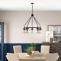 Three Posts™ Poynor 15 - Light Candle Style Tiered Chandelier & Reviews Circle Chandelier, Kitchen Chandelier, Farmhouse Chandelier, Wagon Wheel Chandelier, Bronze Chandelier, Chandelier Shades, Chandelier Lighting, Chandeliers, Empire Chandelier