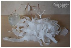 Πώς να φτιάξετε μοναδικές μπαλαρίνες απο σύρμα και χαρτοπετσέτα! | Φτιάξτο μόνος σου - Κατασκευές DIY - Do it yourself