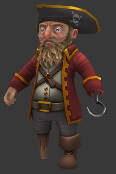 Pirate - JRocket - Polycount
