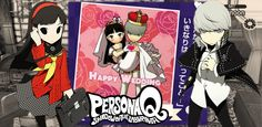 Persona Q: Yu Marriage by AkiyamaFC