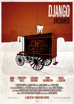 Django Unchained by Fred BELLO, via Behance