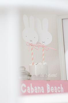 Miffy-Deko - auch als Girlande   DIY   @Lililotta