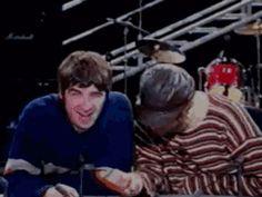 BritpopCulture Gene Gallagher, Lennon Gallagher, Liam Gallagher Oasis, Oasis Band, Liam And Noel, Clean Memes, Britpop, Just Believe, Best Rock