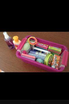 Locker Survival Kit!