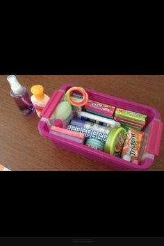Locker Survival Kit!