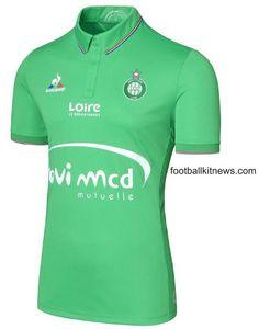 St Etienne home Football Shirts, Vintage Shirts, Polo Shirt, Polo Ralph Lauren, Mens Tops, Fashion, Football Soccer, Vintage T Shirts, Moda