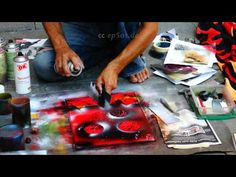 Free Spray Painting Lesson is Amazing - YouTube