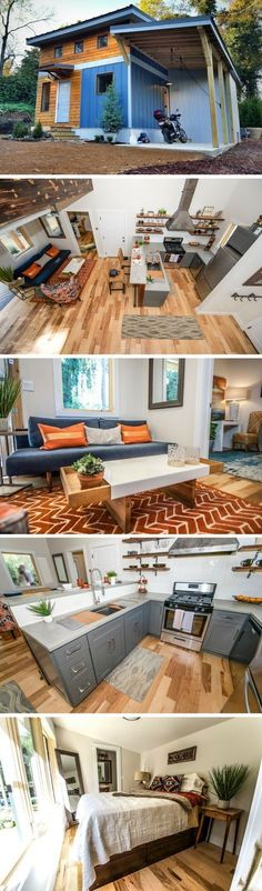 Shed DIY - The Urban Micro House: a 600 sq ft home from Wind River Tiny Homes Now You Can Build ANY Shed In A Weekend Even If You've Zero Woodworking Experience!