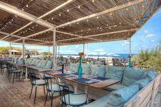 Experimental Beach Ibiza is a Wedding Venue in Ibiza, Islas Baleares, Illes Balears, Spain. See photos and contact Experimental Beach Ibiza for a tour. Cafe Restaurant, Beach Restaurant Design, Outdoor Restaurant, Lakeside Restaurant, Seafood Restaurant, Surf Shack, Beach Shack, Beach Hotels, Beach Resorts