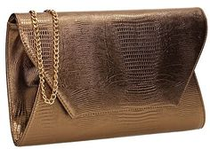 New Trending Clutch Bags: Tania Snakeskin Vegan Leather Womens Elegant Envelope Ladies Party Prom Wedding Bridal Clutch Bags - Bronze. Tania Snakeskin Vegan Leather Womens Elegant Envelope Ladies Party Prom Wedding Bridal Clutch Bags – Bronze   Special Offer: $22.50      488 Reviews This fabulous clutch bag is a brand new addition to SWANKYSWANS Collection. Made with high quality materials, the bag is perfect for all...