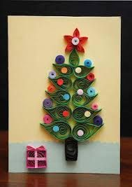Image result for paper quilling christmas tree