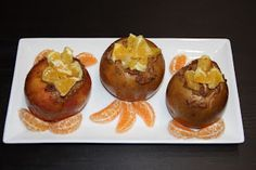 Fitness, Nutrition, and Beauty by Olga: How to Make Baked Apples with Raisins, Almonds, Orange and Dates- Christmas Dessert Healthy Apple Desserts, Healthy Deserts, Healthy Recipes, Christmas Deserts, Christmas Goodies, Holiday Recipes, Holiday Meals, Baked Apples, Healthy Eating